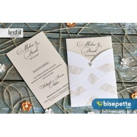 Kristal Davetiye - 70353 Düğün Davetiye