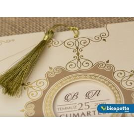 Wedding Davetiye 8235