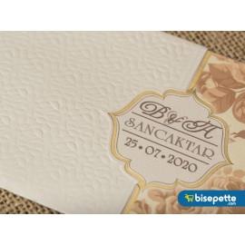 Wedding Davetiye 8242