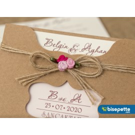 Wedding Davetiye 8248