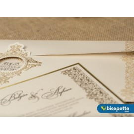 Wedding Davetiye 8271