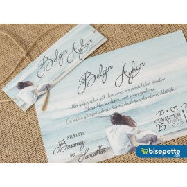 Wedding Davetiye 8321