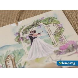 Wedding Davetiye 8329