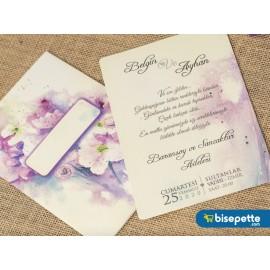 Wedding Davetiye 8344
