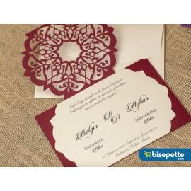 Wedding Davetiye 8350