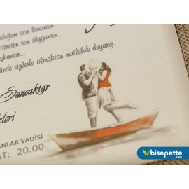 Wedding Davetiye 8359