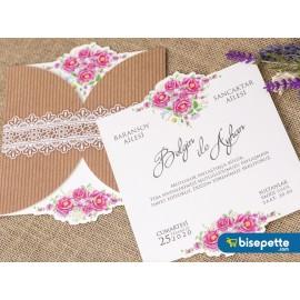 Wedding Davetiye 8364