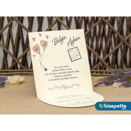 Wedding Davetiye 8365