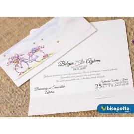 Wedding Davetiye 8373