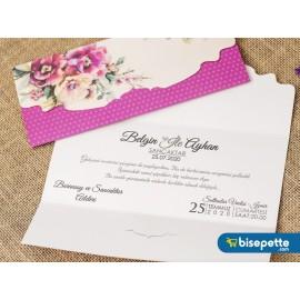 Wedding Davetiye 8374