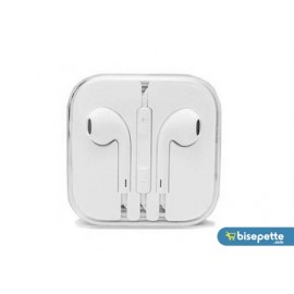 Apple iPhone 6/6S/6 Plus-5/5S/5C/5SE-4/4S/-3/3GS/3G Uyumlu Kulaklık - Beyaz