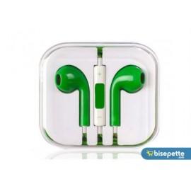 Apple iPhone 6/6S/6 Plus-5/5S/5C/5SE-4/4S/-3/3GS/3G Uyumlu Kulaklık - Yeşil