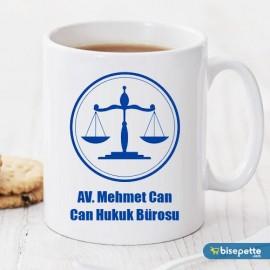 Armalı Avukat Kişiye Özel Kupa