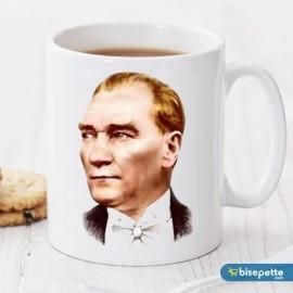 Atatürk Kişiye Özel Kupa Bardak