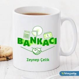 Bankacı Kişiye Özel Kupa Bardak