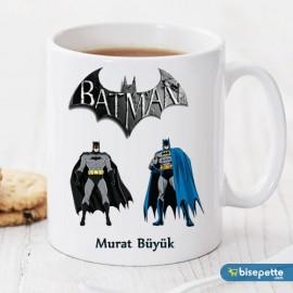 Batman Kişiye Özel Kupa Bardak Model 2
