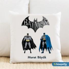 Batman Kişiye Özel Yastık Kılıfı