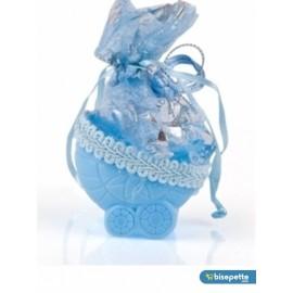 Bebek Mevlüt Şekeri 12 Adet Birden - Mavi Bebek Arabası