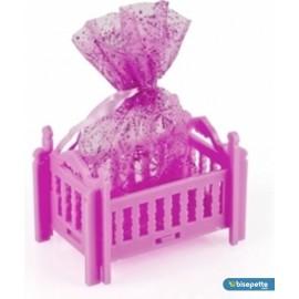 Bebek Mevlüt Şekeri 12 Adet Birden - Pembe Beşik