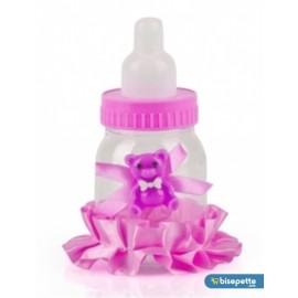 Bebek Mevlüt Şekeri 12 Adet Birden - Pembe Biberon