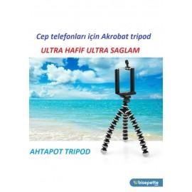 Cep Telefonlari & Digital Camera Uyumlu 25cm Ahtapot Tripod 2in1