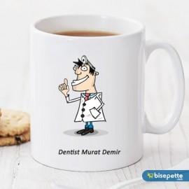 Dentist Kişiye Özel Kupa Bardak