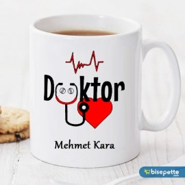 Doktor Kişiye Özel Kupa Bardak