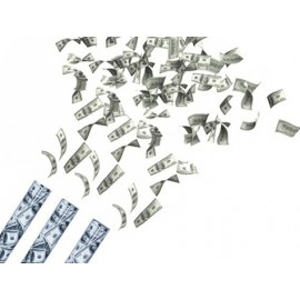 Dolar Saçan Konfeti - Büyük Boy