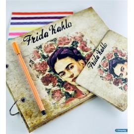 Fotoğraf Albümü Kendin Yap Özel Tasarım Frida Kahlo