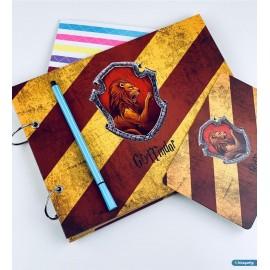 Fotoğraf Albümü Kendin Yap Özel Tasarım Gryffindor