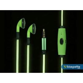 Işıklı Kulaklık - Yeşil