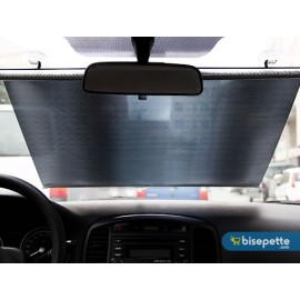 Katlanabilir Araç Güneşlik 50 x125 cm - Siyah