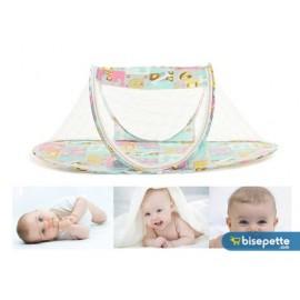 Katlanabilir Bebek Sineklik Koruyucu Cibinlik - Mavi (Model 2)