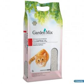 Kedi Kumu 5 LT - GARDENMIX BENTONITE Parfümsüz İnce
