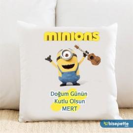 Minions Minion Kişiye Özel Yastık Kılıfı