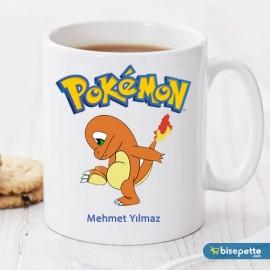 Pokemon Charmander Kişiye Özel Kupa bardak