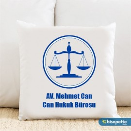 Armalı Avukat Kişiye Özel Yastık Kılıfı