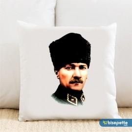 Atatürk Kişiye Özel Yastık Kılıfı