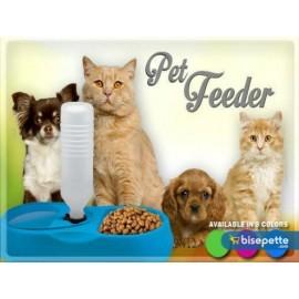 Kedi ve Köpek İçin Otomatik Su ve Mama Kabı