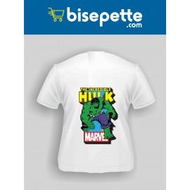 Hulk Karakter baskılı Tişört