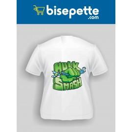 Hulk Smash Baskılı Tişört